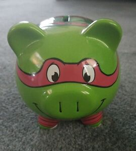 Raphael Teenage Mutant Ninja Turtles Piggy Bank Tmnt Starpoint 2014