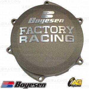Boyesen Factory Racing Clutch Cover Motocross MX Blue Yamaha YZ 125 2016