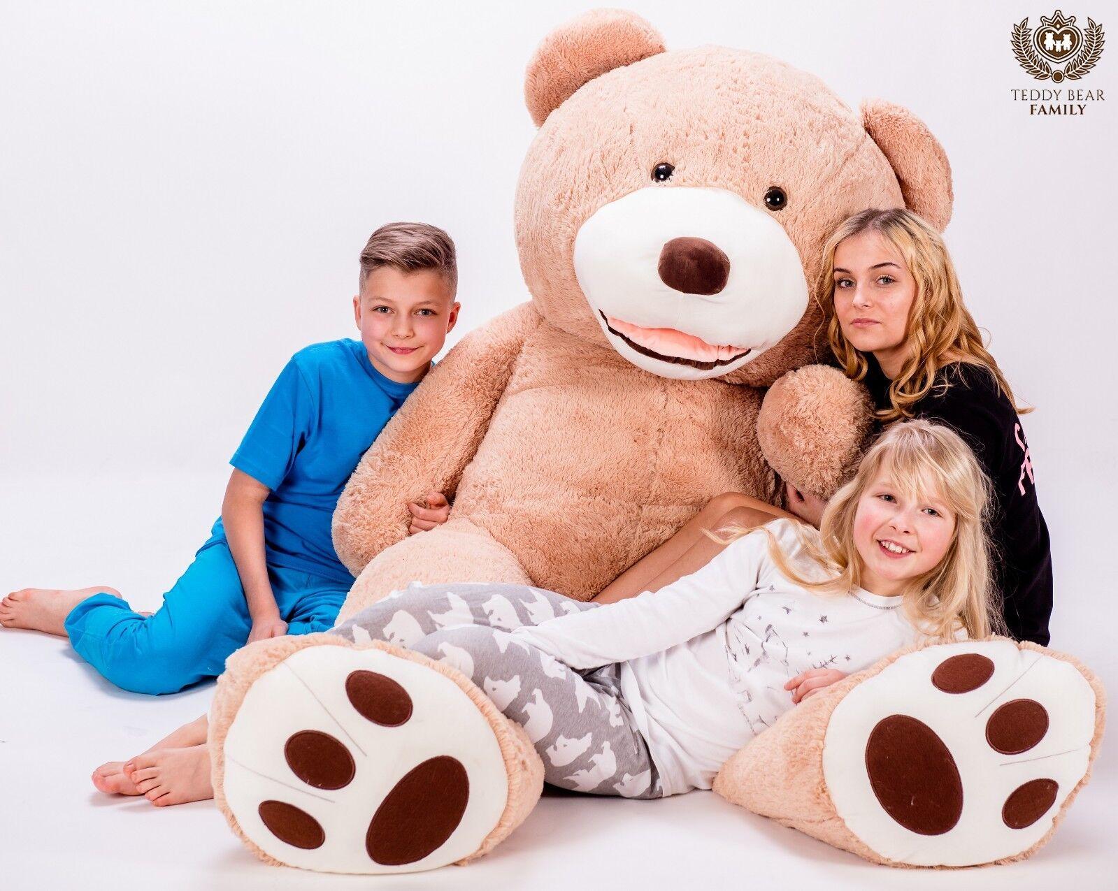 Teddybär XXL 270 240 220 200 180 160 140 cm Riesen Stofftier Plüschtier Groß