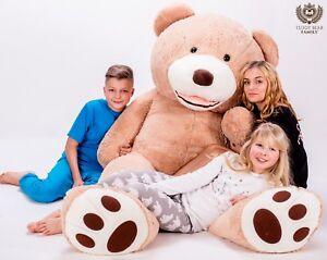 Teddybär Xxl 270/240/220/200/180/160/140 Cm Riesen Stofftier Plüschtier Groß Teddys