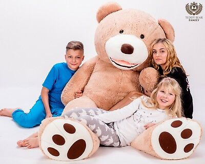 Plüschtiere & -figuren Willensstark Teddybär Xxl 270/240/220/200/160/140 Cm Riesen Stofftier Plüschtier Groß