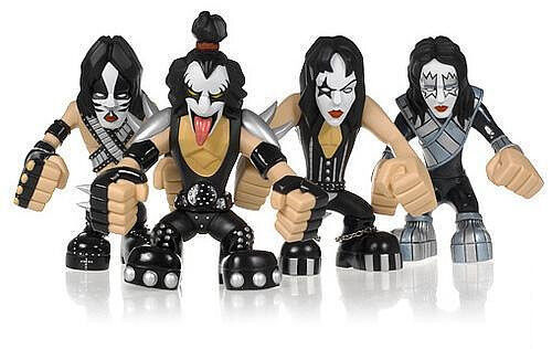 Kiss Hotter than Hell Set of 4 PVC Figures 16cm by Seg