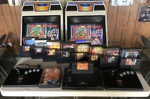 NEO-GEO-AES-USA-GAME-CONSOLE-AND-COLLECTION-SAMURAI-SHOWDOWN