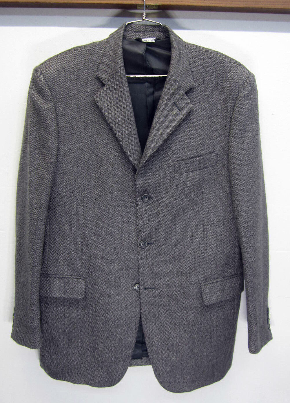 Vtg Zanieri Blazer Sport Coat 3 btn super 100's Tessilatrona sz 42L  made