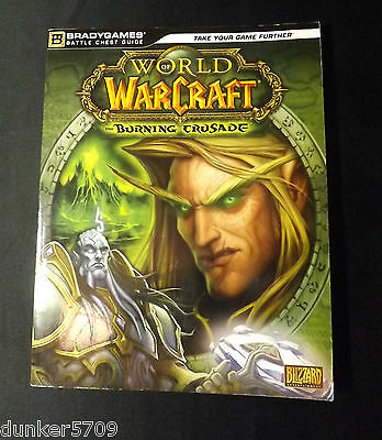 2007 Bradygames Battle Chest Guide World Of Warcraft Burning Crusade Soft Cover Vouw-Weerstand