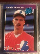 4666b00c59 1989 Donruss Randy Johnson Montreal Expos #42 Baseball Card for sale ...