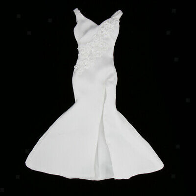 12 Zoll Weibliche Actionfiguren Kleidung Abendkleid Ballkleid High Heels
