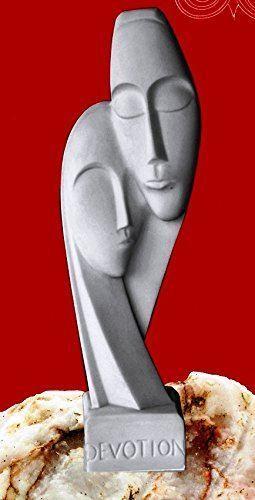 Abstract Alabaster Couple Couple Couple Figurine Statue Devotion 7b6ec4