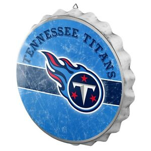 Tennessee-Titans-Bottle-Cap-Wall-Sign-Distressed-Room-Bar-Decor-Metal-13-5-034