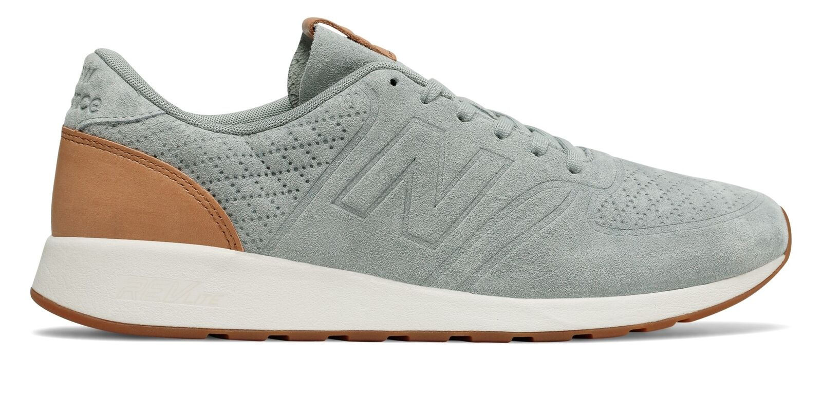 New Balance 420 Deconstructed Uomo Shoes Grey with Tan