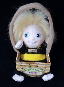 Rubens Barn Linné Doll Handmade Soft Doll FAO Schwarz White Rose Plush Toy