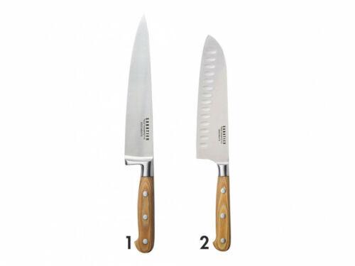couteau Santoku Lot de 2 couteaux SABATIER en inox couteau de chef