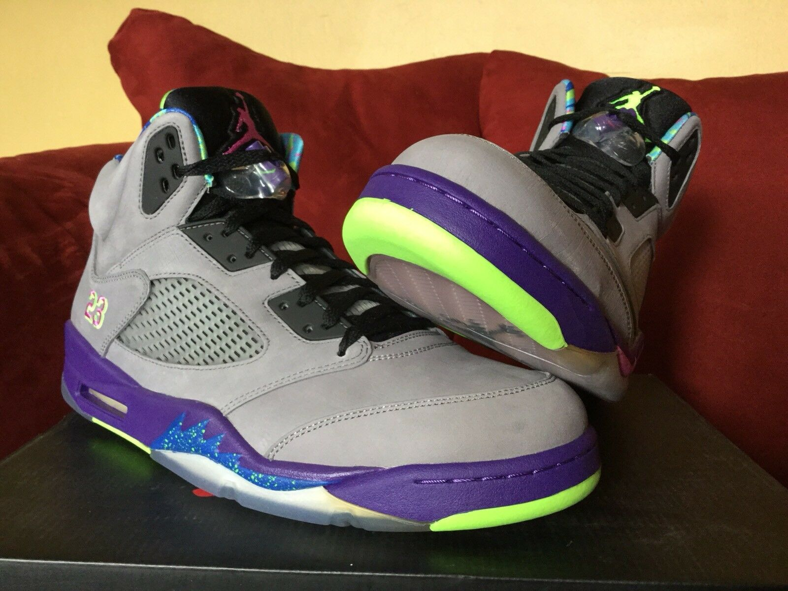 Brand New  Jordan 5 Bel Air Size 14  Never Worn  Nike Retro 2013  Factory-Laced