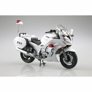 Skynet 1//12 Completed Bike Honda CB1000R Sword Silver Metallic