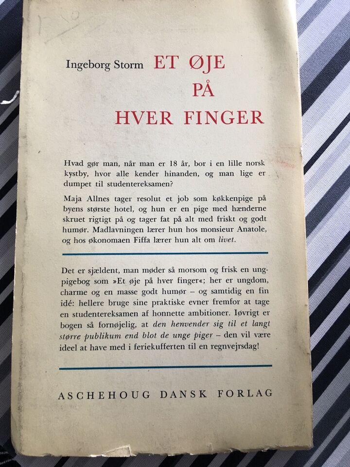 Et øje på hver finger, Ingeborg Storm, genre: humor