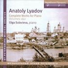 Anatoly Lyadov: Complete Works for Piano, Vol. 1-2 (CD, Dec-2012, 2 Discs, Northern Flowers)