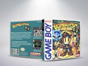 Bomberman-GB-Replacement-Cover-Case-NO-Game