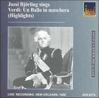 "Jussi Bj""rling Sings Highlights from Verdi's ""Un Ballo in maschera"" (CD, Jun-2002, IDIS)"