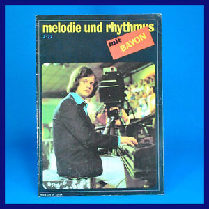 GDR-Melody-and-Rhythm-2-1977-Carlos-Santana-Holger-Bend-Billy-Ocean-Ens