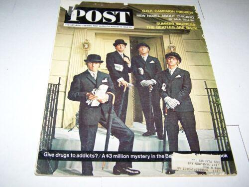 AUG 15 1964 SATURDAY EVENING POST magazine THE BEATLES AUG 8