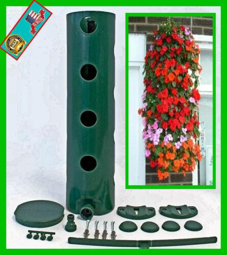 Vertical Planter Gardening System POLANTER StrawberryTomato Flowers /& much more