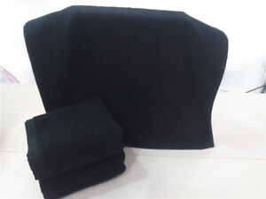 Adults-Bath-Towel-Luxury-Solid-Black-Large-Soft-Hotel-Spa-100-Cotton-Towels