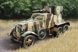 1-3-5-Scala-Hobbyboss-Kit-Modello-HBB83839-Sovietica-BA-6-Armor-Auto