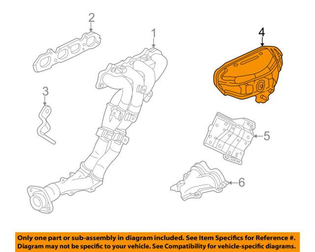 s l640 honda s2000 upper exhaust manifold shield 18120 pcx 010 oem 2000