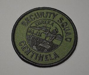 Details about California State Prison Centinela Security Squad Subdued  Patch ++ CDCR CA HTF