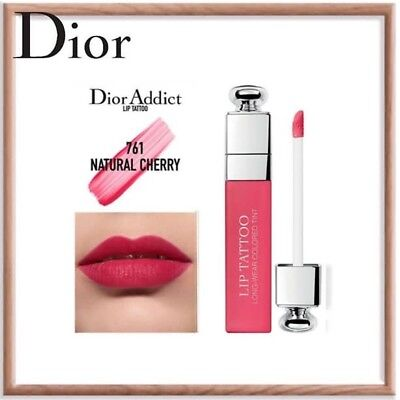 Dior Lip Tattoo 761 Natural Cherry Brand New Full Size Unboxed Ebay