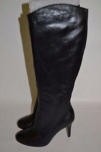 94e7708e29b0 CORSO COMO Dapper Silk Calf High Heel FASHION Boots Black LEATHER Size 6 M   285
