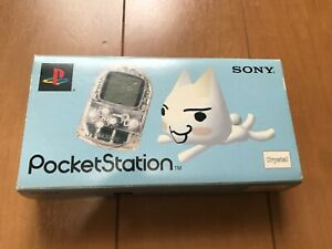 Sony-PocketStation-PlayStation-PS-Crystal-SCPH-4000-BOX-and-Manual-Japan-3