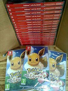 Pokémon: Let's Go, Eevee! (Nintendo Switch, 2018) Brand New Factory Sealed