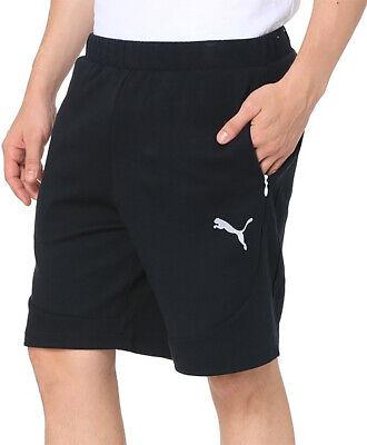 Niedrigerer Preis Mit Puma Evostripe Lite Knit Mens Training Shorts - Black ZuverläSsige Leistung