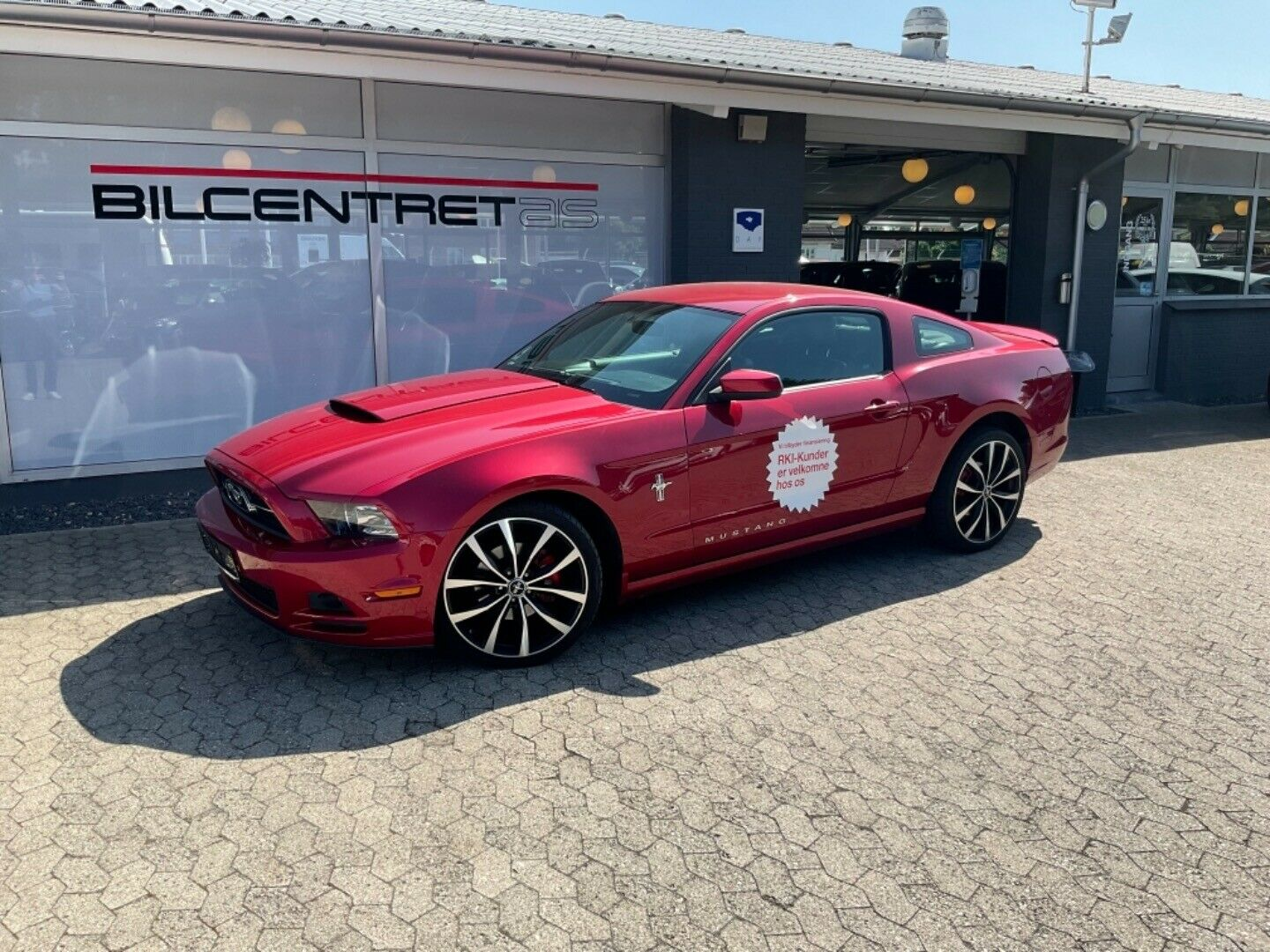 Ford Mustang 3,7 V6 aut. 2d