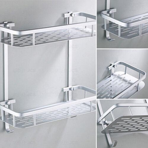 Stainless Steel Bathroom Kitchen Shower Shelf Wire Basket Storage Caddy BL3
