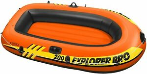 Intex Boot Explorer Pro 200 Sportboot Schlauchboot für Kinder 196x102x33 cm