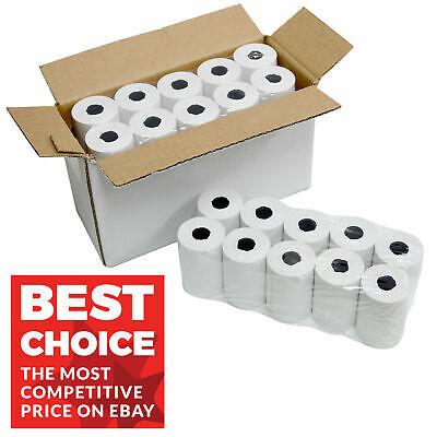 10 Rolls of 57x40mm Thermal Paper Credit Card Machine PDQ Till Rolls