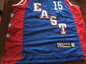 8bfae1741 Reebok NBA Jersey All Star Game LA 2004 East Vince Carter Toronto ...