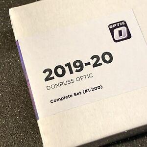 2019-20-Donruss-Optic-NBA-Cards-Complete-Set-1-200-Incl-Zion-Ja-amp-Luka