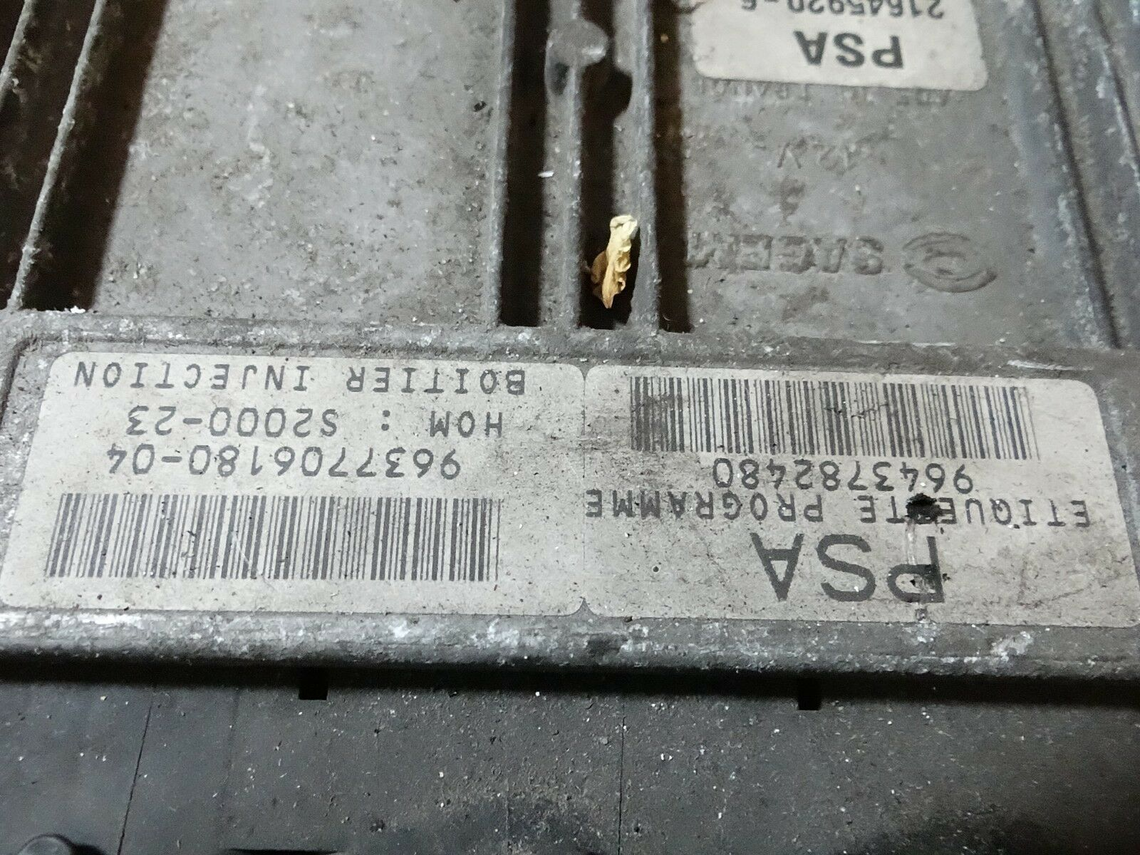 Peugeot Citroen ECU Sagem 21645920 9643782480 9637706180 FAST SHIPPING