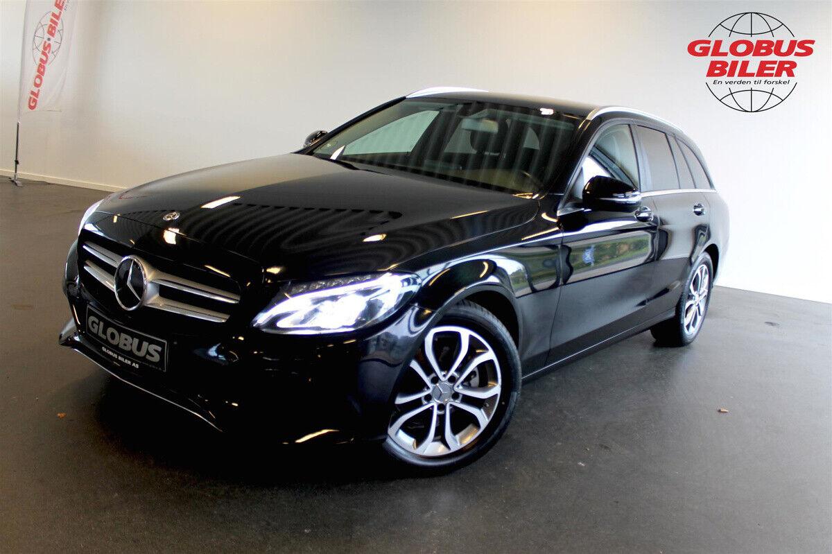 Mercedes C220 d 2,2 Avantgarde stc. aut. 5d - 319.900 kr.