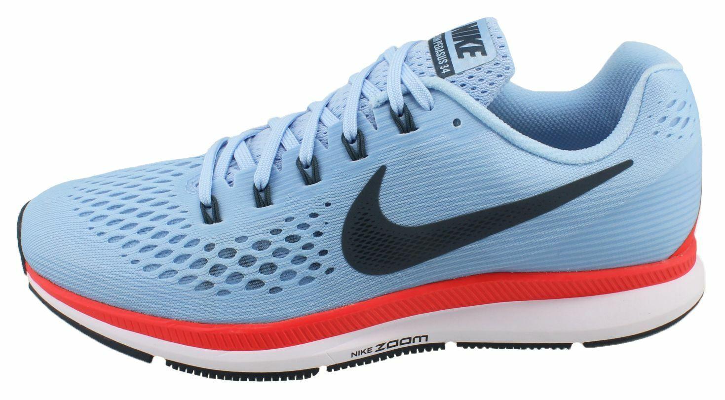 Nike Air Zoom Pegasus 34  Ice bluee  (880555-404) Men's Size 6.5