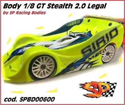 Carrozzeria Body SP 1//8 STEALTH 1//8 GT per MZ4 CRONO IFENIX BMT 1.0mm no paint