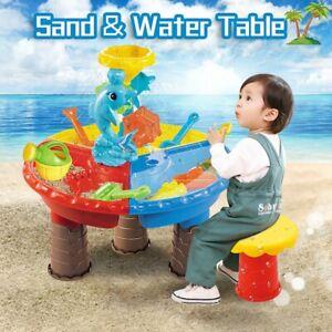 Sandbox Sand And Water Table Beach Toys Set Beach Play Table Sand For Children Ebay