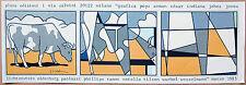 Roy Lichtenstein 1923-1997 Cow going abstract Farb-Serigraphie 1985 handsigniert