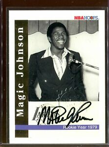 Magic-Johnson-1992-93-Hoops-Commemorative-Autograph-Skybox-Stamp-Auto-2