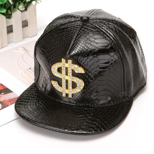 Mens Womens Snapback Hat Shine USA Dollar Baseball Caps adjustable Hip Hop Hats