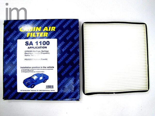 Innenraumluft Pollenfilter Innenraumfilter Peugeot Citroen Berlingo Xsara