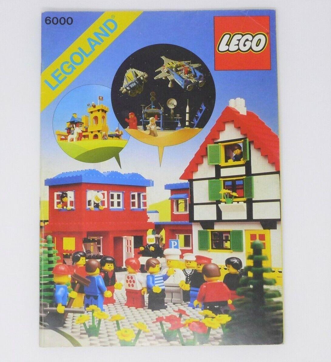 Libro Legoland 6000 con sticker adesivi arco completo mai utilizzato book lego